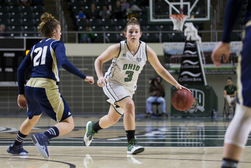 Women's Basketball: Doseck's strong second half wills Ohio past High Point, 64-61