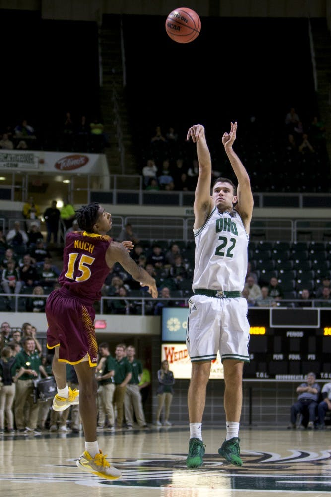 Men's Basketball: Ohio seeks offensive strides, steadiness at home against Toledo