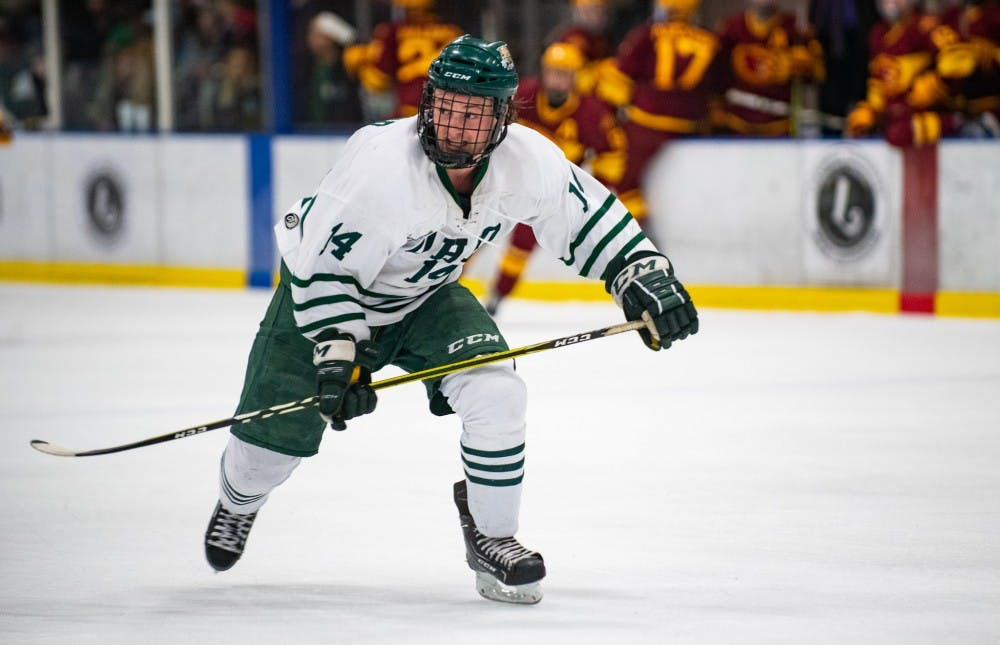 Hockey: Shawn Baird's defensive performance helps Ohio sweep Iowa State
