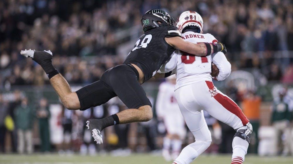 Football: Bobcat defense stares down tall task against Toledo