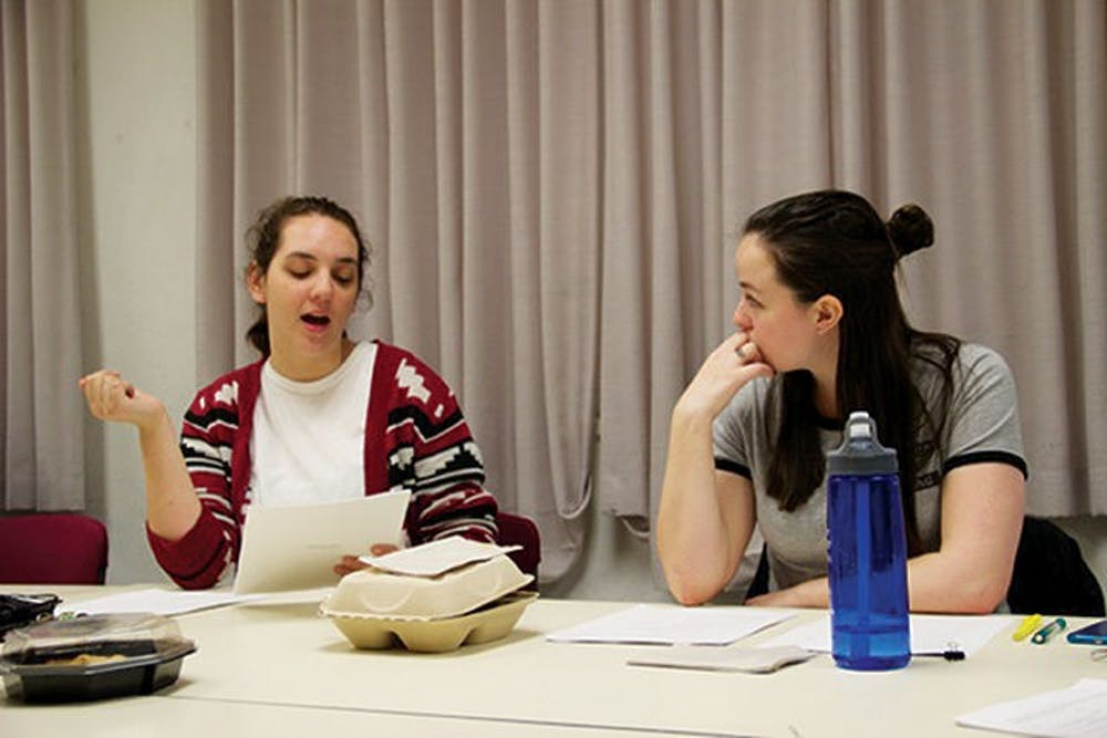 Undergraduate Playwrights Festival to feature variety, focus on writing