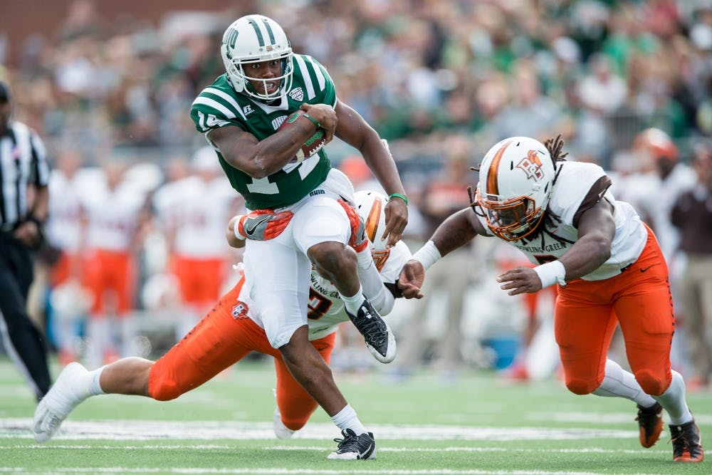 Football: Ohio beats Bowling Green 30-24 in Homecoming game