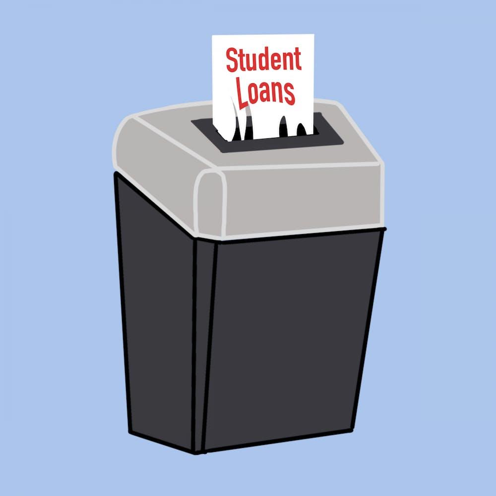 Students discuss student debt forgiveness following Biden's extension of debt relief
