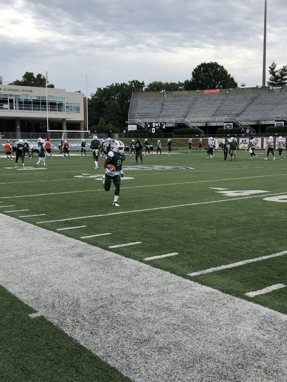 Football: 5 thoughts after Ohio's first scrimmage