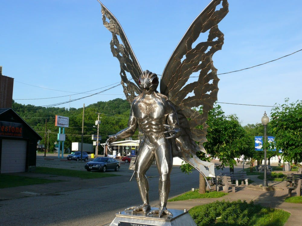 Here's how local papers reported on the Mothman