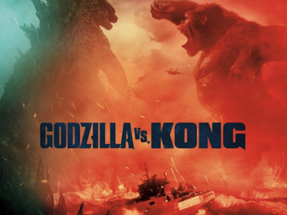 Godzilla vs. Kong isn't a movie that set out to get awards or progress cinema. It's a movie that came out to fill seats and give viewers a nice spectacle. (Photo provided via @GodzillaMovies on Twitter).