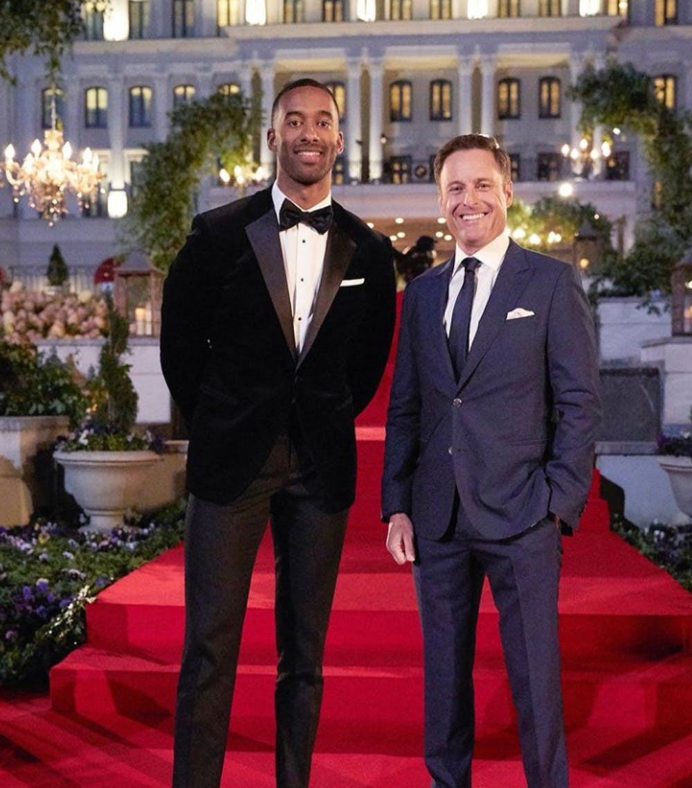 TV Review: Matt James embraces his role as the first Black lead on 'The Bachelor'
