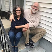 John and Wendy McVicker will read selections from their poetry book 'Sliced Dark' at the Athens Public Library. (Provided via John McVicker)