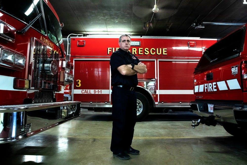 Athens Fire Department and OU collaborate to keep Athens residents safe