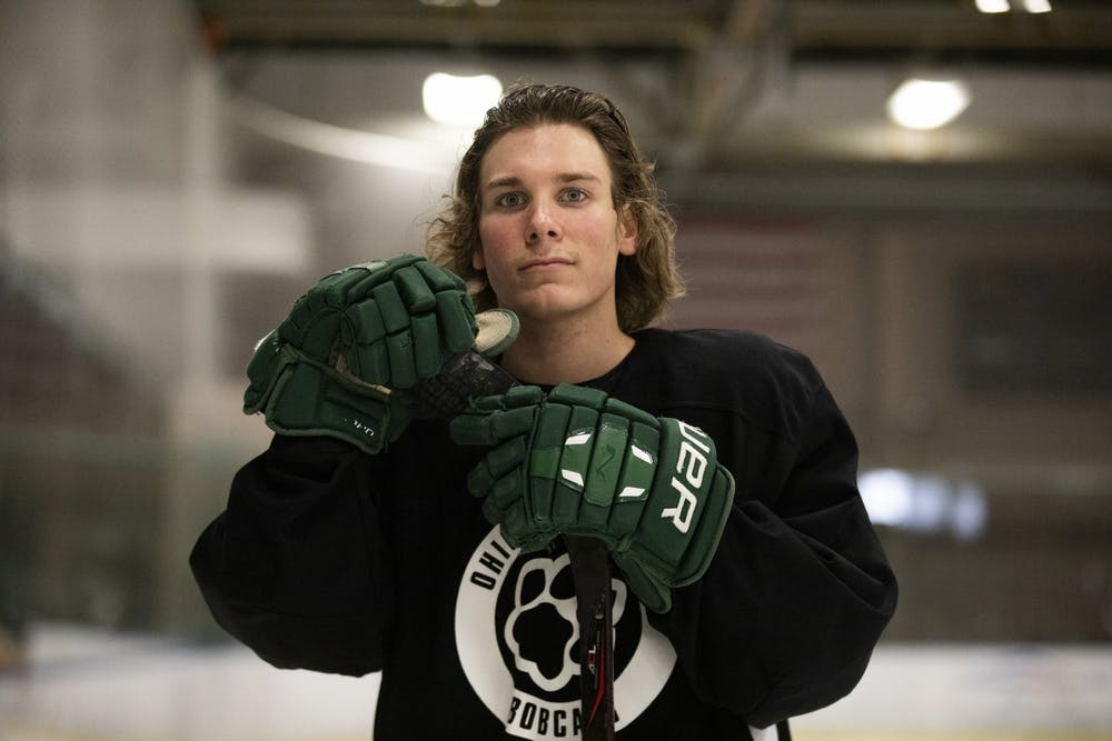 Hockey: Tyler Harkins' greatest season is also his last
