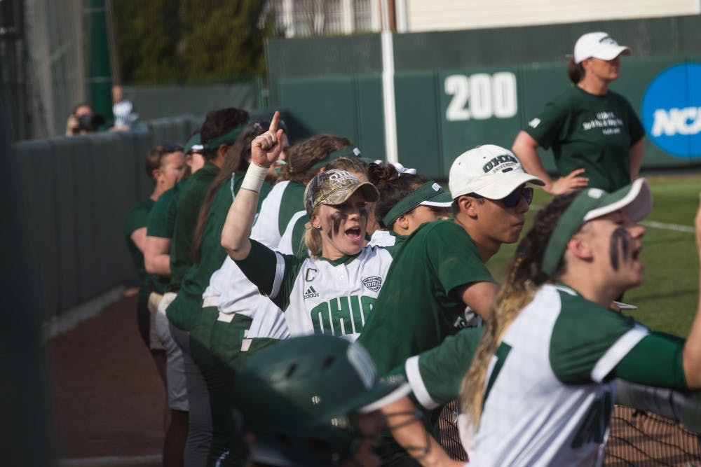 Softball: Ohio defeats Miami in a weekend conference series