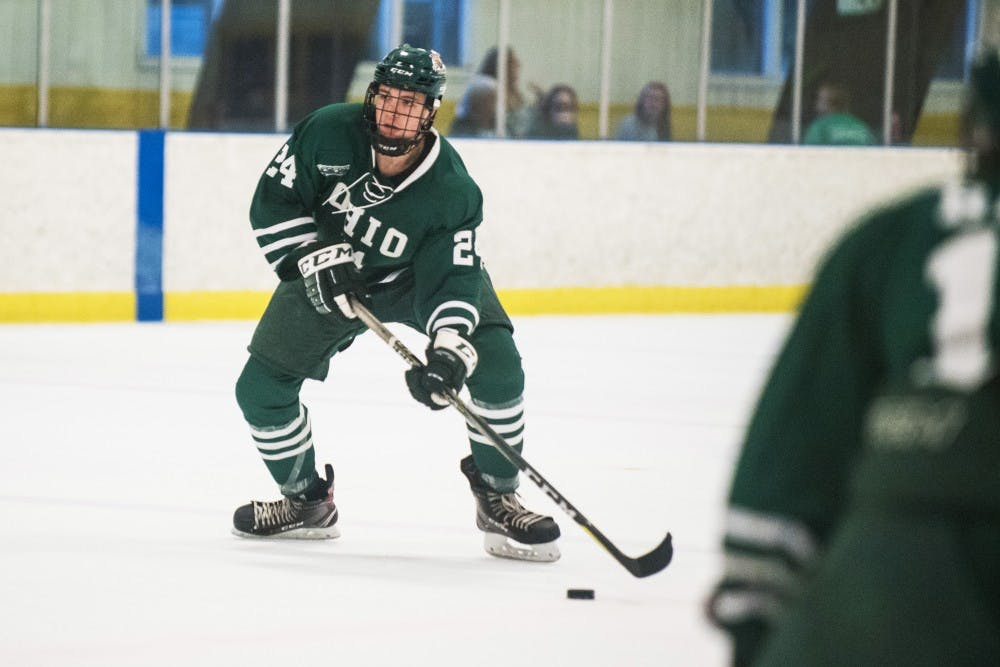 Hockey: Newcomers to the Bobcats contribute heavily in sweep of West Virginia