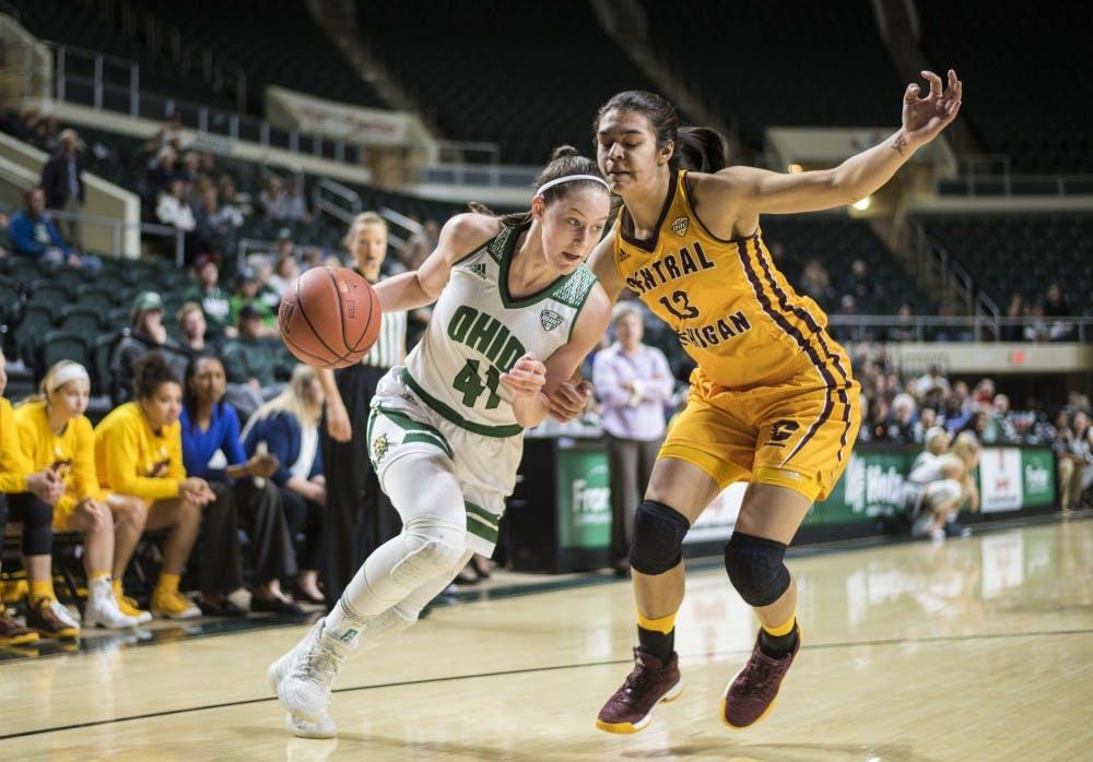 Women's Basketball: Despite a late push, Ohio falls to Central Michigan in final seconds