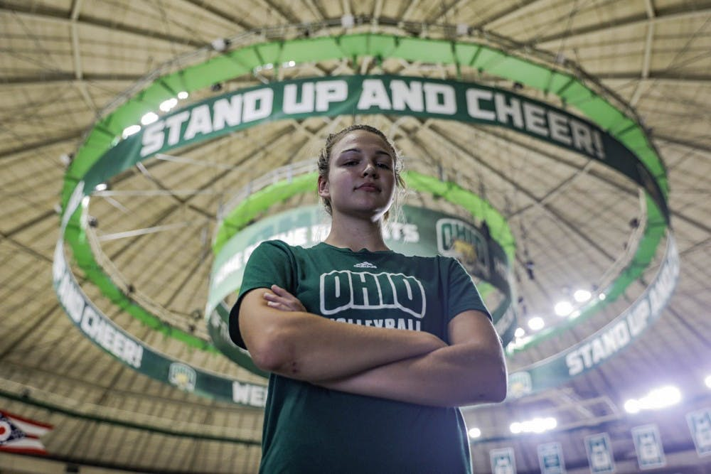 Volleyball: Transfer Maggie Nedoma finding her role at Ohio