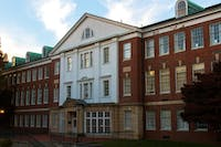 McCracken Hall houses the Patton College of Education.