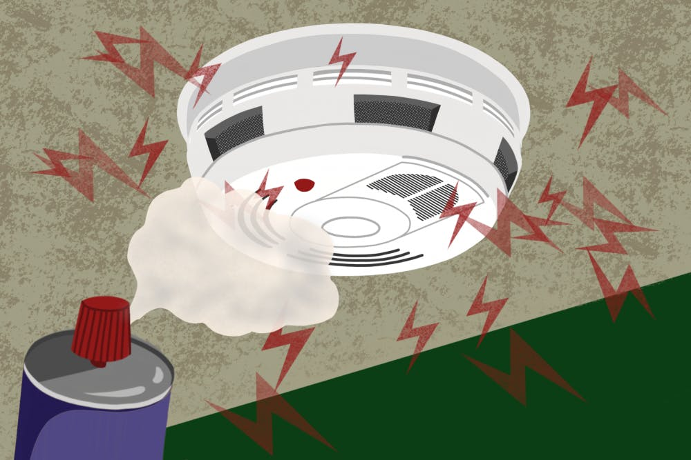 The majority of fire alarms on OU's campus? They're false alarms