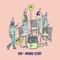 Canadian punk-rock band PUP released its third album, 'Morbid Stuff,' on April 5. (Photo via @stereogum on Twitter)