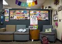 The lobby of Ohio University's LGBT Center on Sept. 25. (FILE)