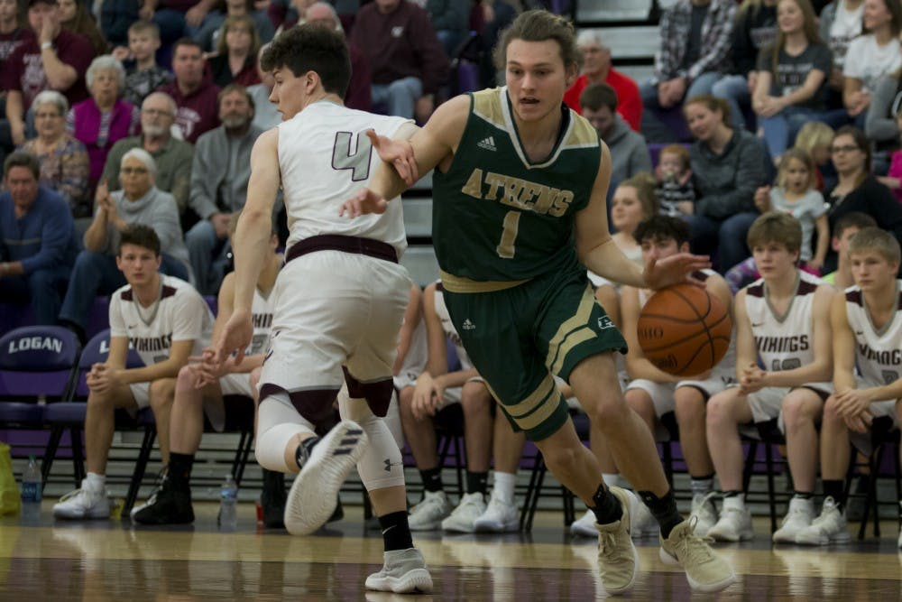 Athens Basketball: Bulldogs fall in OT to Vinton County 69-60