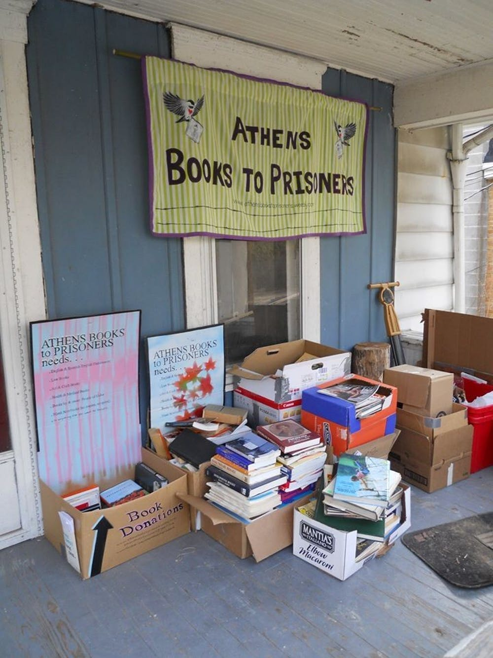 Athens Books to Prisoners provides educational materials for incarcerated persons