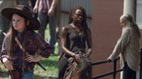 Michonne seems to be the new leader on 'The Walking Dead.' (via @ComicBookNOW on Twitter)
