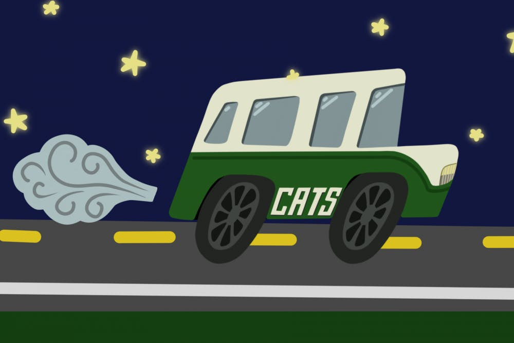 CATS Late Night service sees increase in passengers