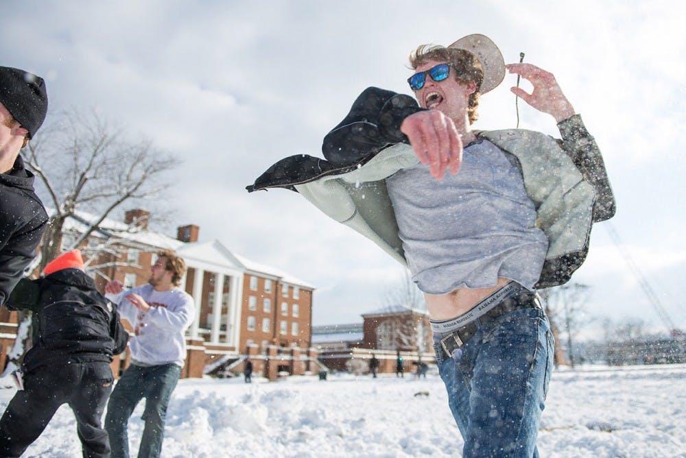 Blizzards and blistering cold: the only way to cancel class at OU