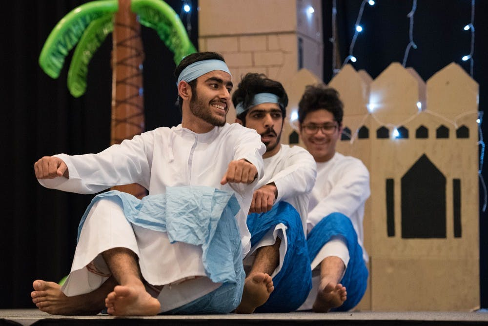 Fifth annual Arabian Night celebrated the Arabian Gulf with food and performance
