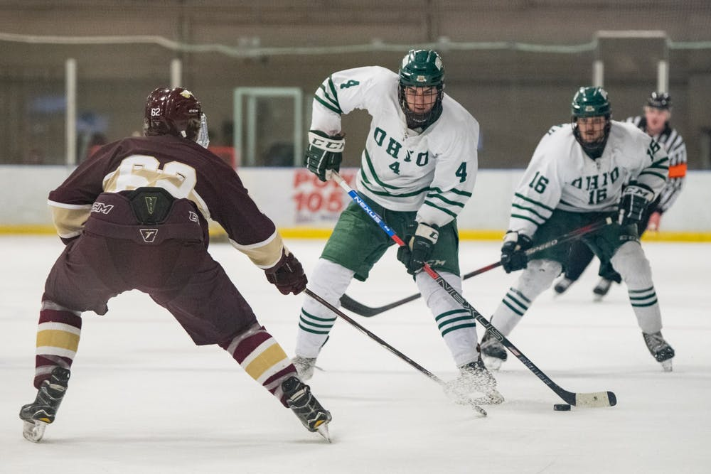 Hockey: The good, the bad and the ugly from Ohio's series with Liberty