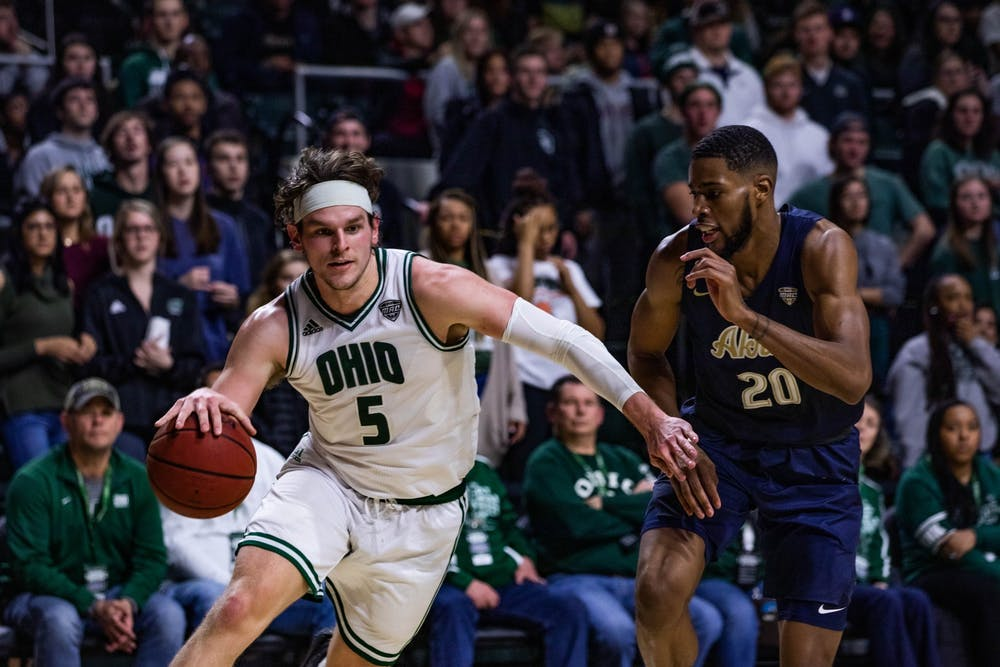 Men's Basketball: Numbers that mattered from Ohio's 61-59 defeat to Northern Illinois