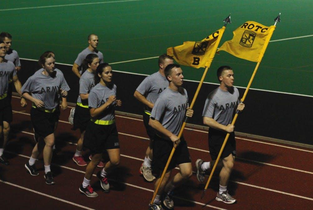 Ohio University ROTC cadets balance daily duties with student life