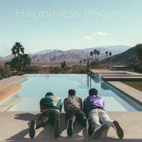 'Happiness Begins' is the perfect comeback album for the Jonas Brothers. (Photo via @AppleMusic on Twitter)