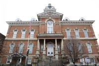 The exterior of the Athens County Courthouse, 8 E. Washington St. (FILE)