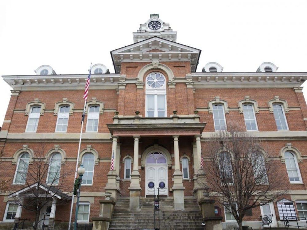 The exterior of the Athens County Courthouse, 8 E. Washington St. (FILE)