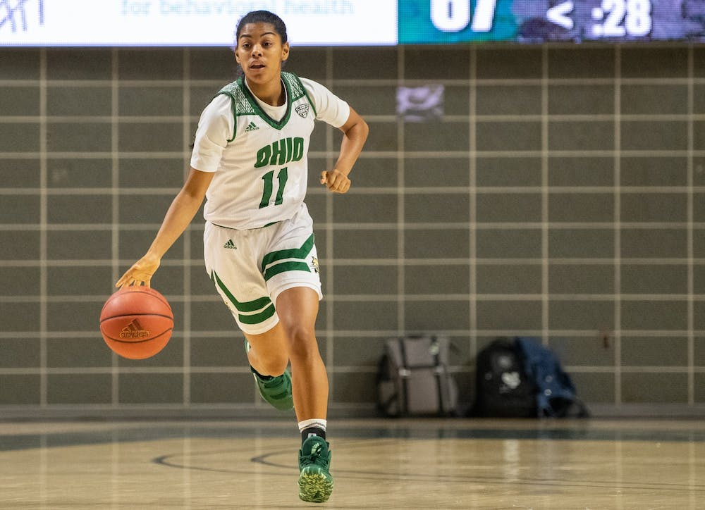 Women's Basketball: Peyton Guice sets out on her own path at Ohio