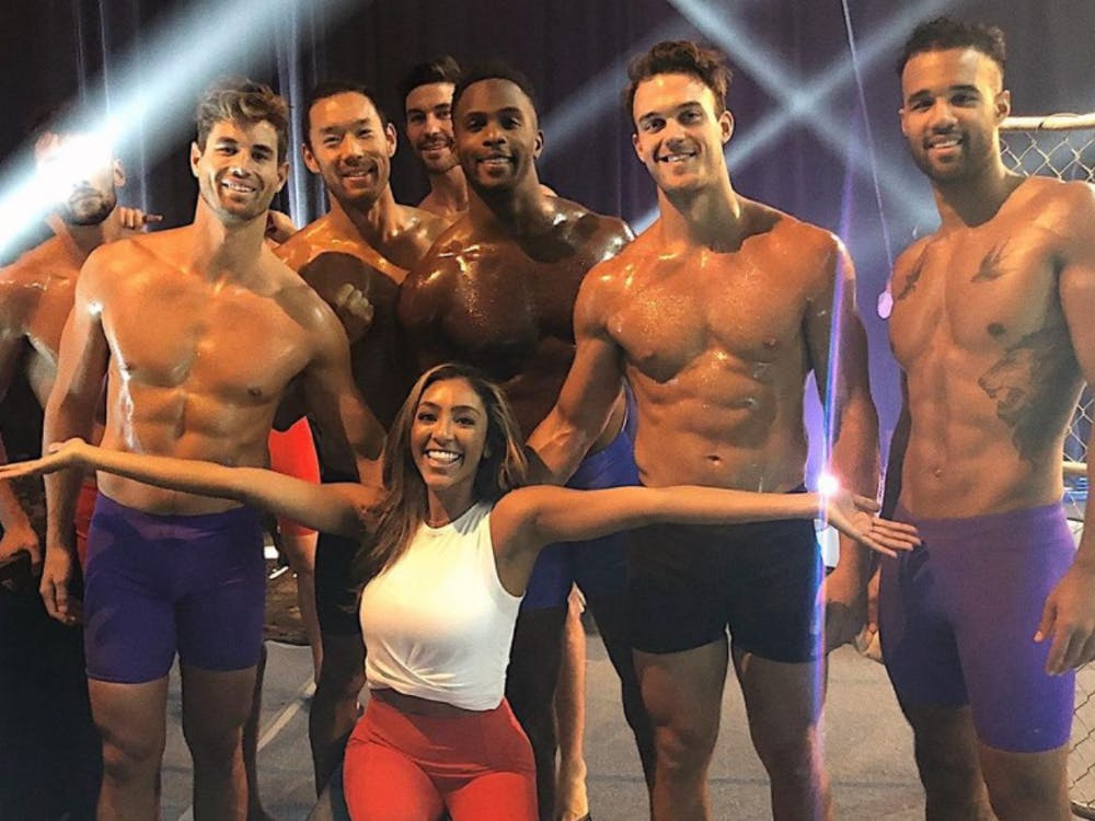 The guys put their manhood to the test during episode six of 'The Bachelorette' (Photo provided via @tayshia on Instagram)