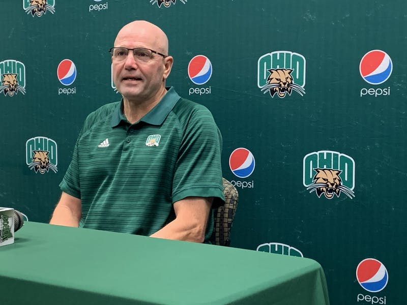 Tim Albin at his weekly press conference on Sept. 27, 2021.