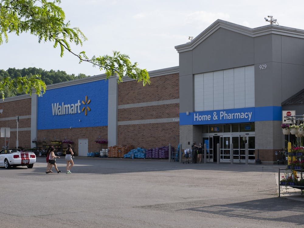 Walmart off East State St. in Athens, Ohio on May 23, 2021.