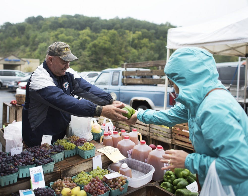 Athens Farmers Market is a vital sustainable food source to the area