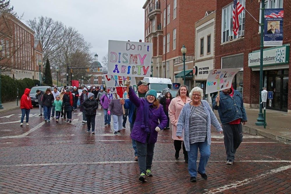 Athens County Board of Developmental Disabilities to host March on Court Street for Disability Awareness