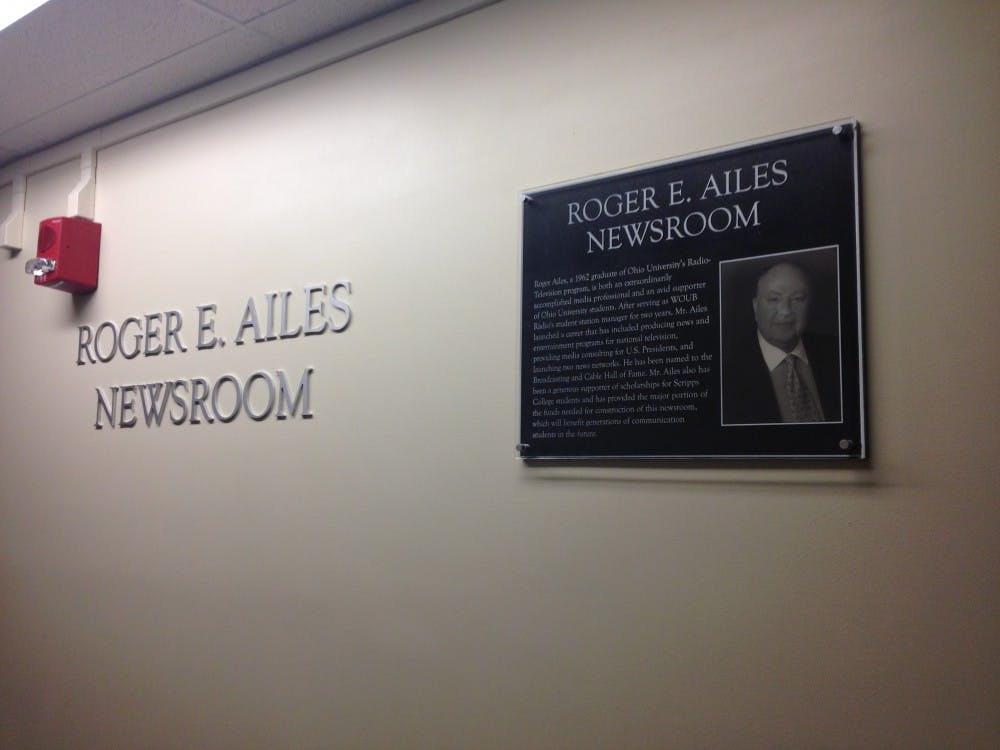 Roger Ailes' plaque requested by art collective