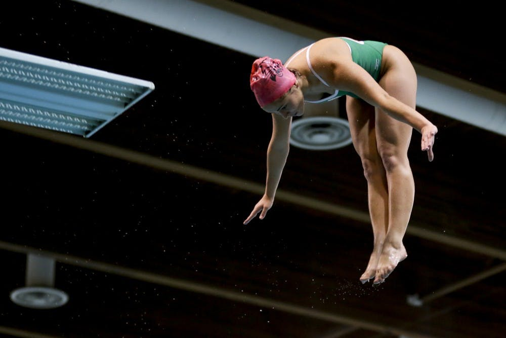 Swim and Dive: Depth is the reason for difference in standings at MAC Championships