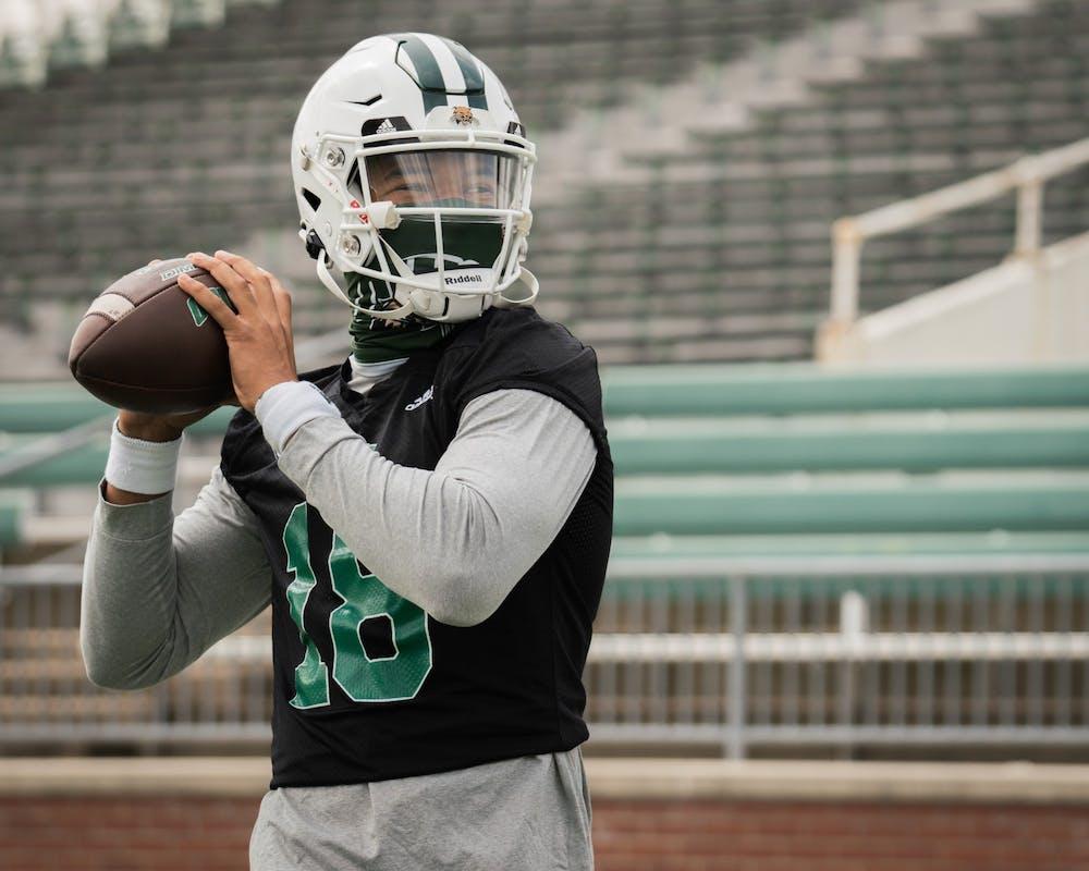 Football: Meet new Ohio quarterback Armani Rogers
