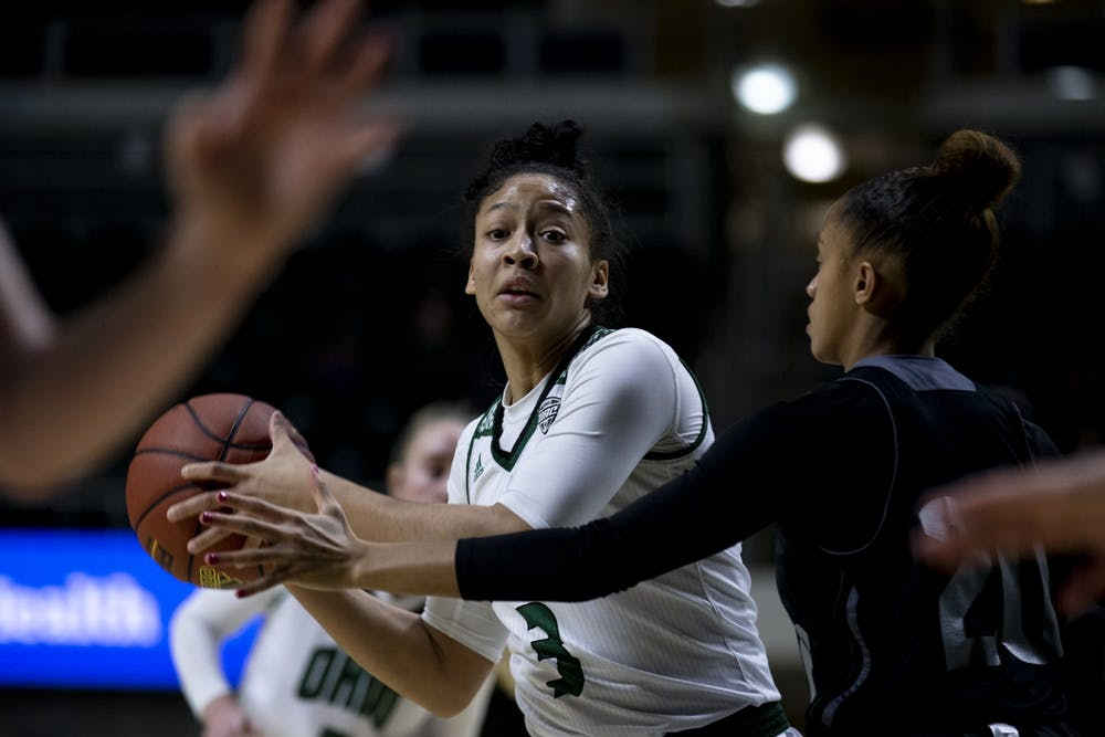 Women's Basketball: Amani Burke offers consistency both on and off the court