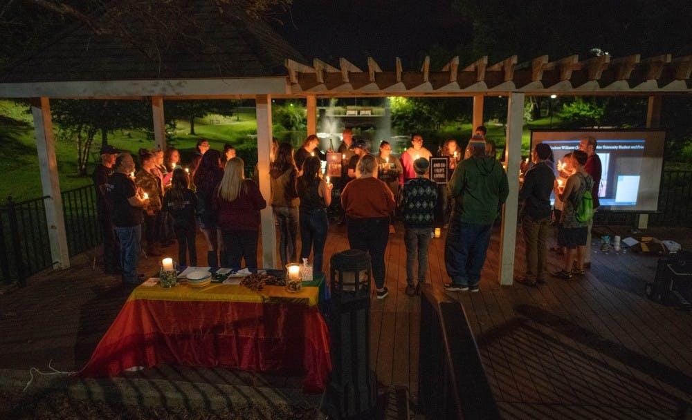OU LGBT Center hosts World Suicide Prevention Day vigil