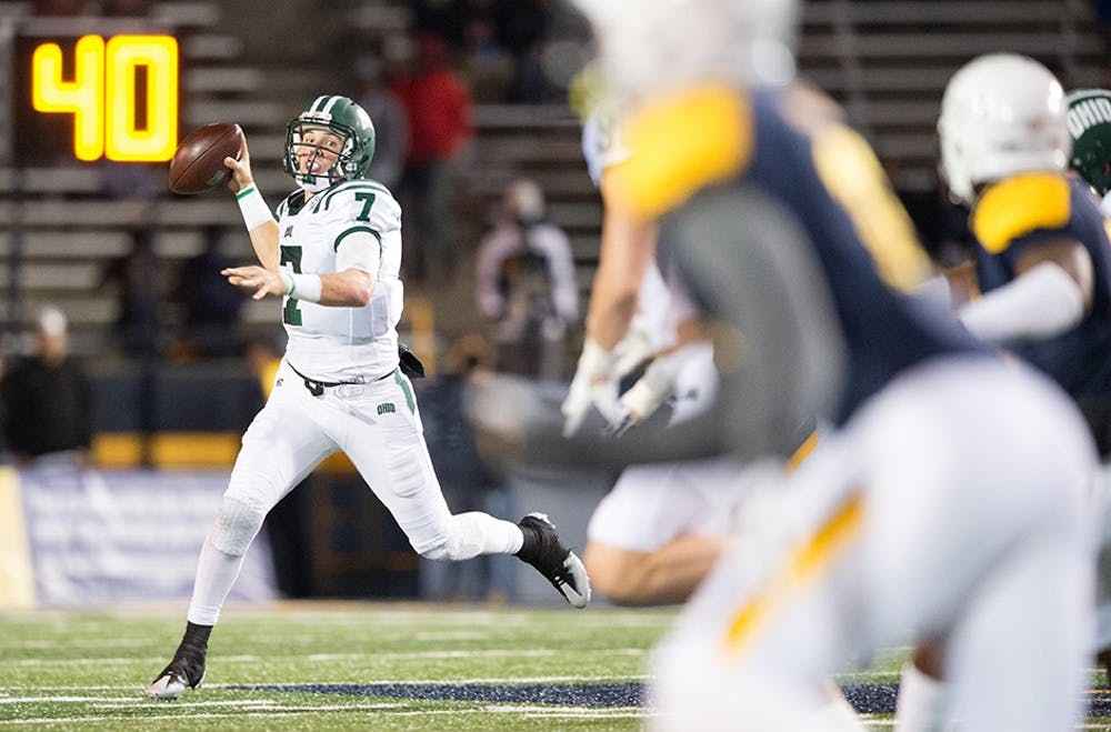 Football: Ohio wins at Toledo for first time since 1967, defeats Toledo 31-26