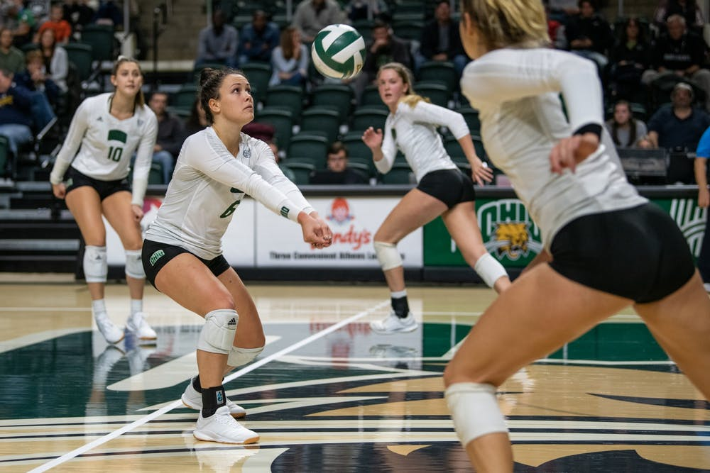 Volleyball: Ohio sweeps Kent State in must-win match