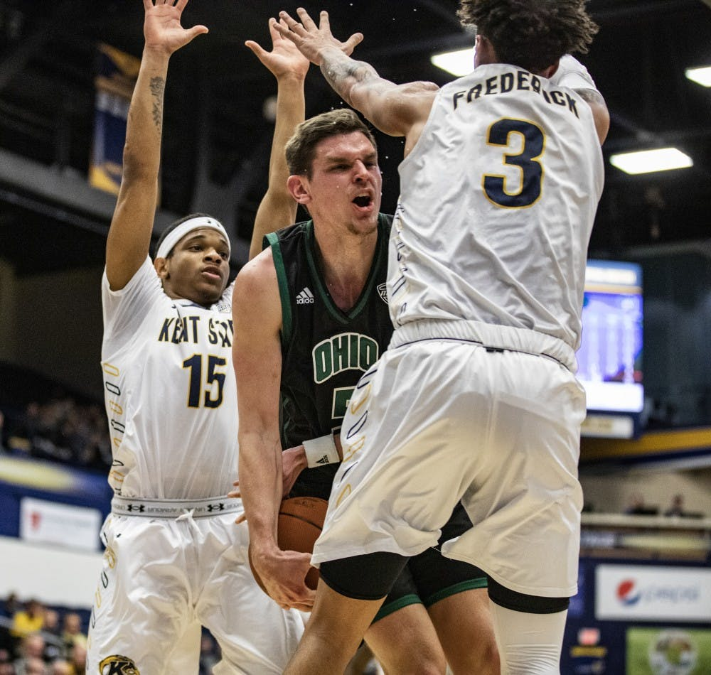 Men's Basketball: Ohio seniors struggle in loss to Kent State