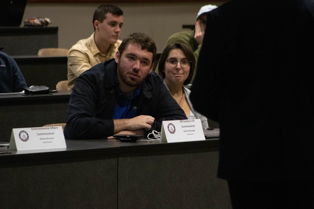 Student Senate: Body hears presentation on student housing discrimination, fair housing promotion