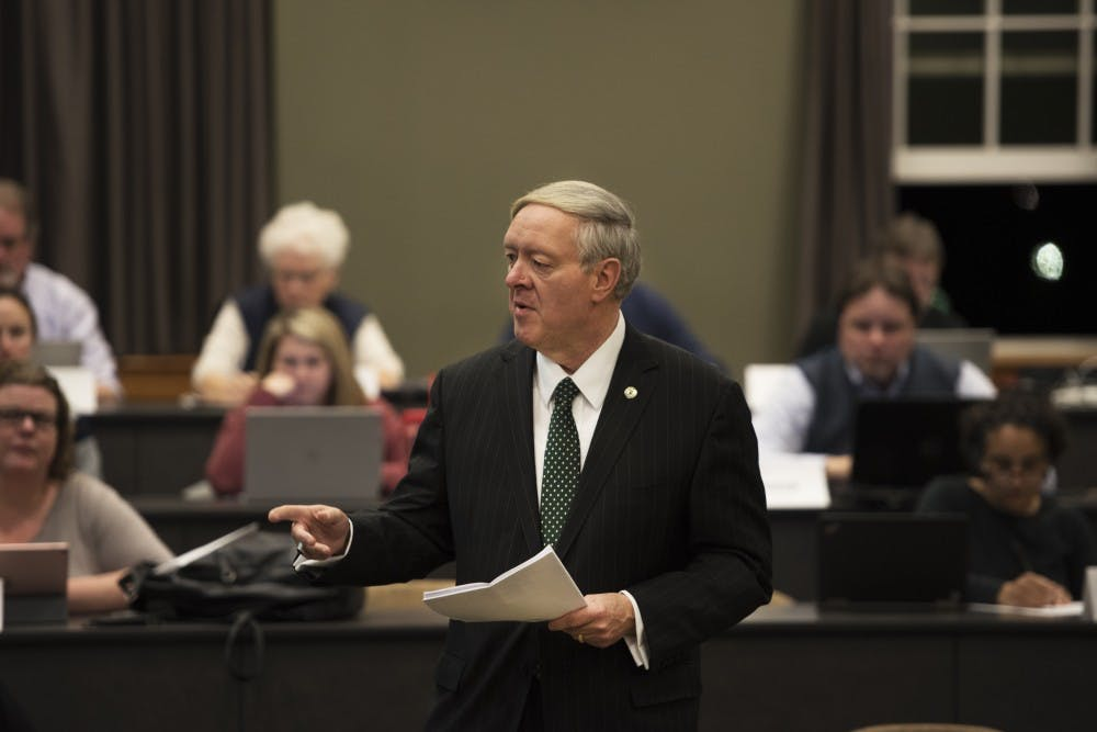 Faculty Senate to discuss Faculty Handbook, responses to legislation Monday